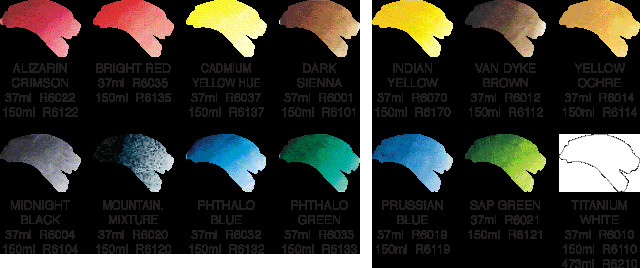 Best ideas about Bob Ross Paint Colors . Save or Pin malarlycka Now.