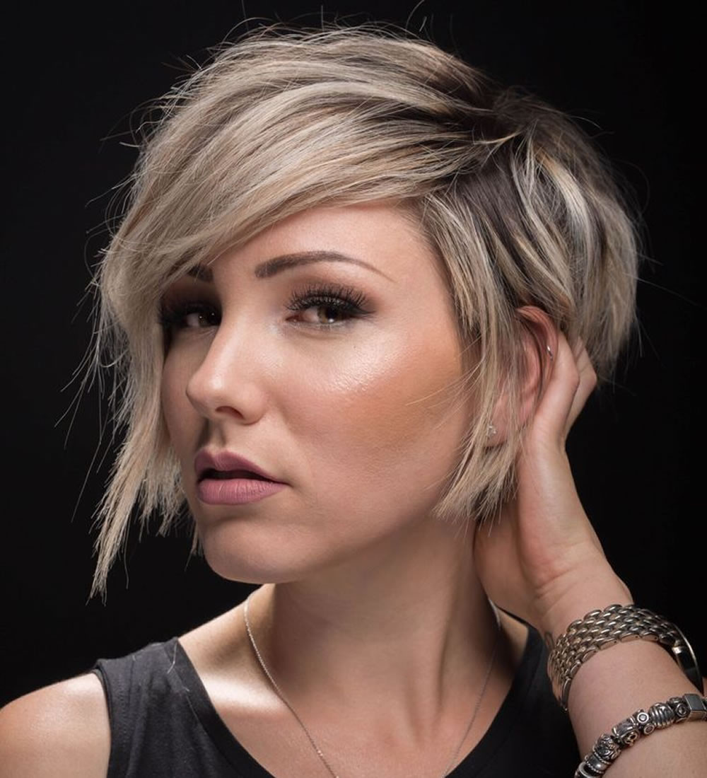 Bobbed Haircuts 2019  2018 Undercut Short Bob Hairstyles and Haircuts for Women