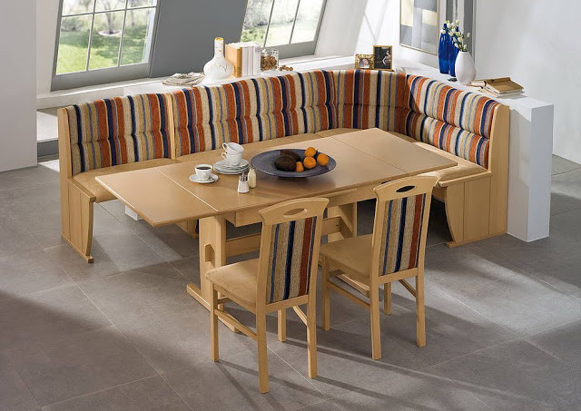 Best ideas about Booth Dining Table . Save or Pin Booth Zombie Pic Kitchen Booth Table Now.