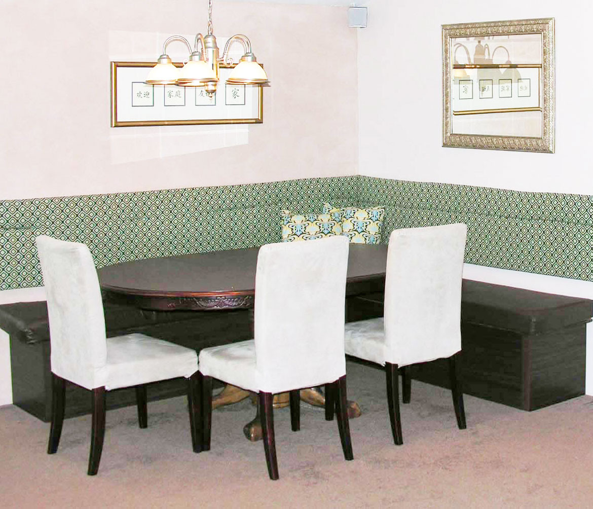 Best ideas about Booth Dining Table . Save or Pin Booth Zombie Pic Dining Room Booth Table Now.