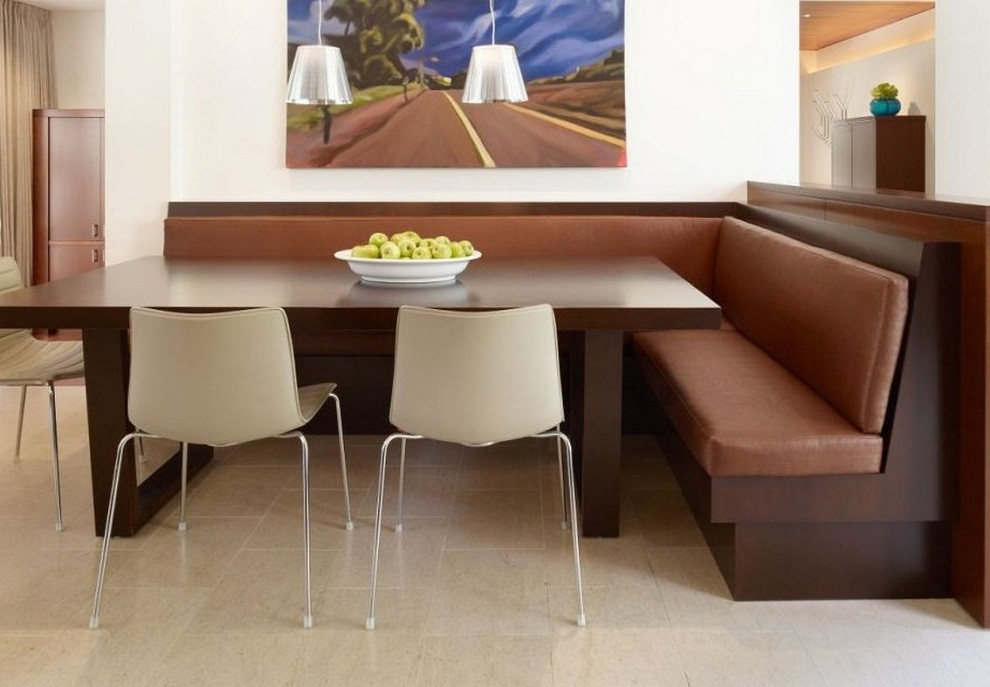 Best ideas about Booth Dining Table . Save or Pin Dining Room inspiring dinette booth sets Dining Room Now.