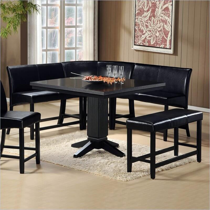 Best ideas about Booth Dining Table . Save or Pin Dining Room inspiring dinette booth sets Rv U Shaped Now.