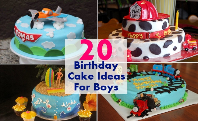 Best ideas about Boy Birthday Cake Ideas . Save or Pin 20 Awesome Birthday Cake Ideas For Boys Now.