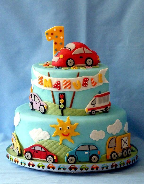 Best ideas about Boy Birthday Cake Ideas . Save or Pin 15 Baby Boy First Birthday Cake Ideas Now.
