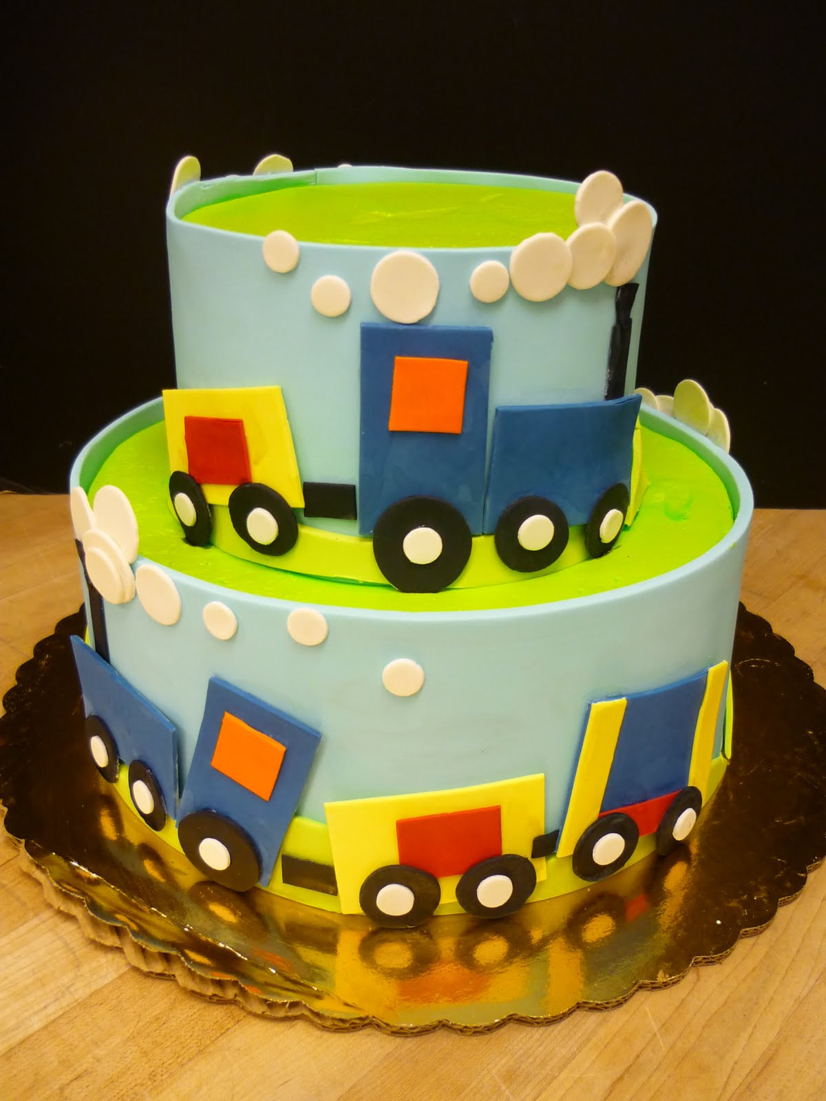 Best ideas about Boy Birthday Cake Ideas . Save or Pin Choo Choo A Train Party B Lovely Events Now.