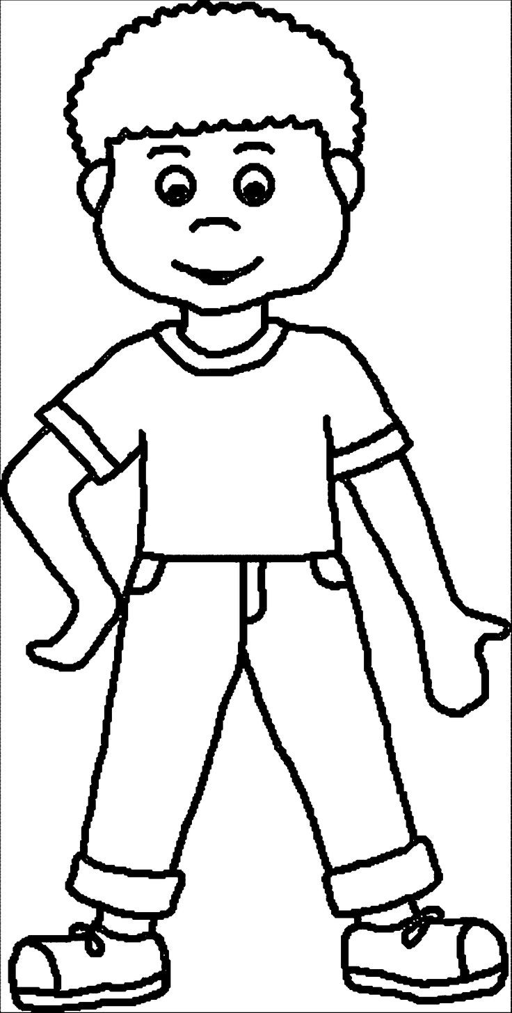 Boy Coloring Book Pages  coloring pages Boy Coloring Page