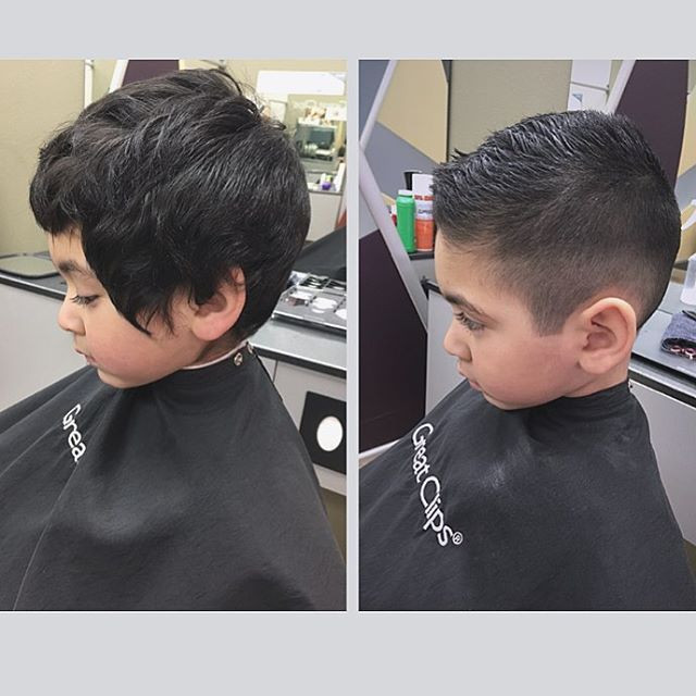Best ideas about Boy Undercut Hairstyle . Save or Pin Little Boy Hairstyles 81 Trendy and Cute Toddler Boy Now.