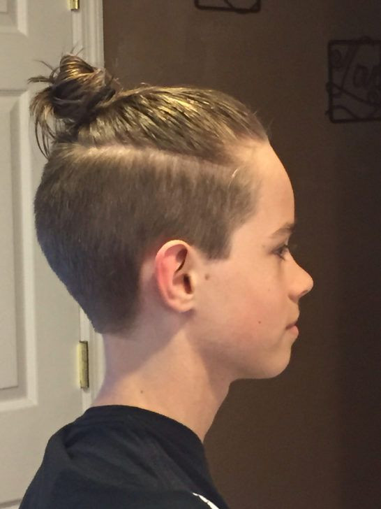 Best ideas about Boy Undercut Hairstyle . Save or Pin The 25 best Man bun haircut ideas on Pinterest Now.