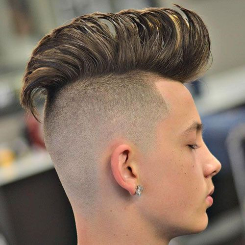 Best ideas about Boy Undercut Hairstyle . Save or Pin 104 best images about Undercut Hairstyles For Men on Now.