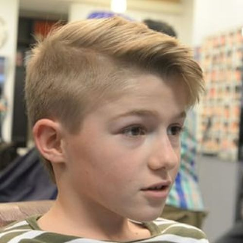 Best ideas about Boy Undercut Hairstyle . Save or Pin 8 Latest Young Boys Stylish Hairstyle 2015 HairstyleVill Now.