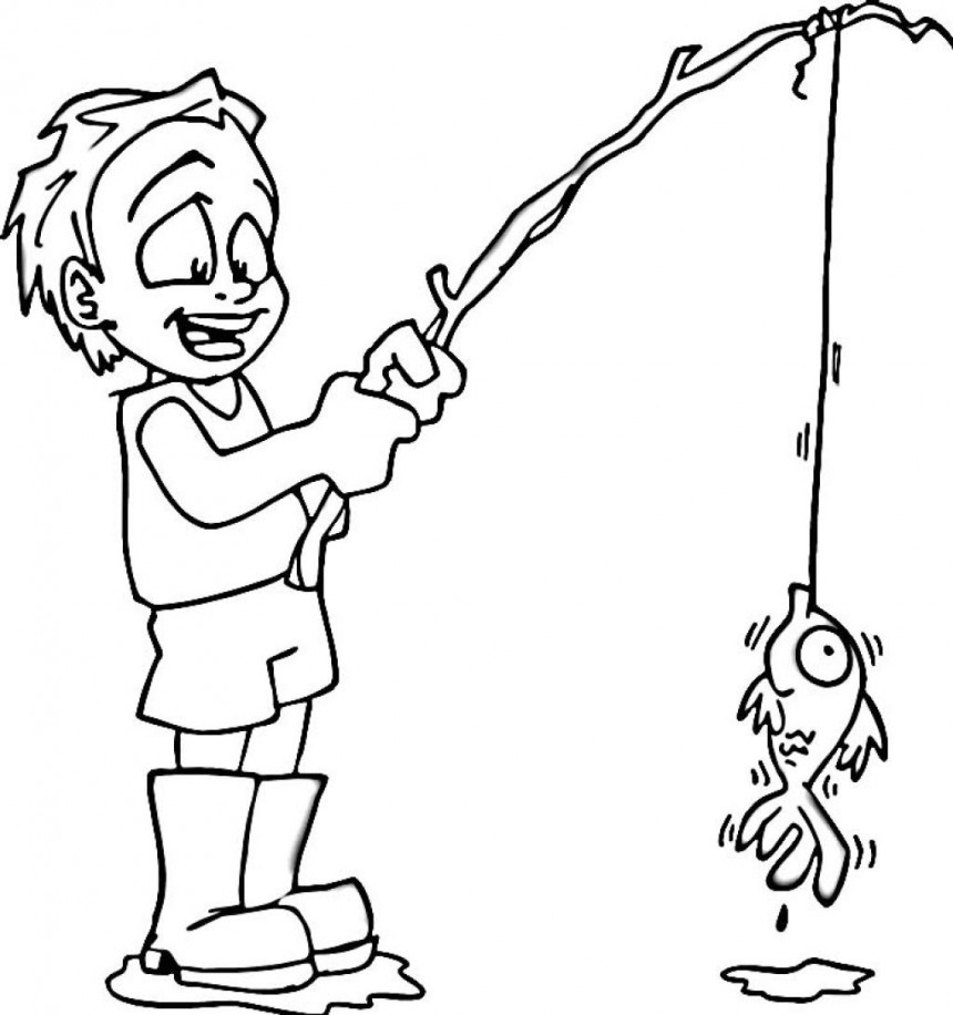 Boys Coloring Pages  Free Printable Boy Coloring Pages For Kids