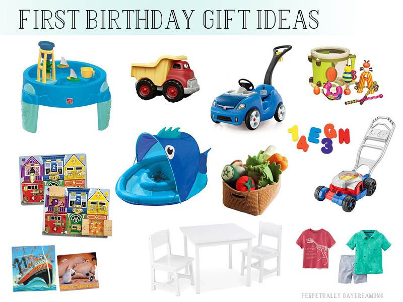 Boys First Birthday Gift Ideas  Gift Ideas for e Year Old Boys Perpetually Daydreaming