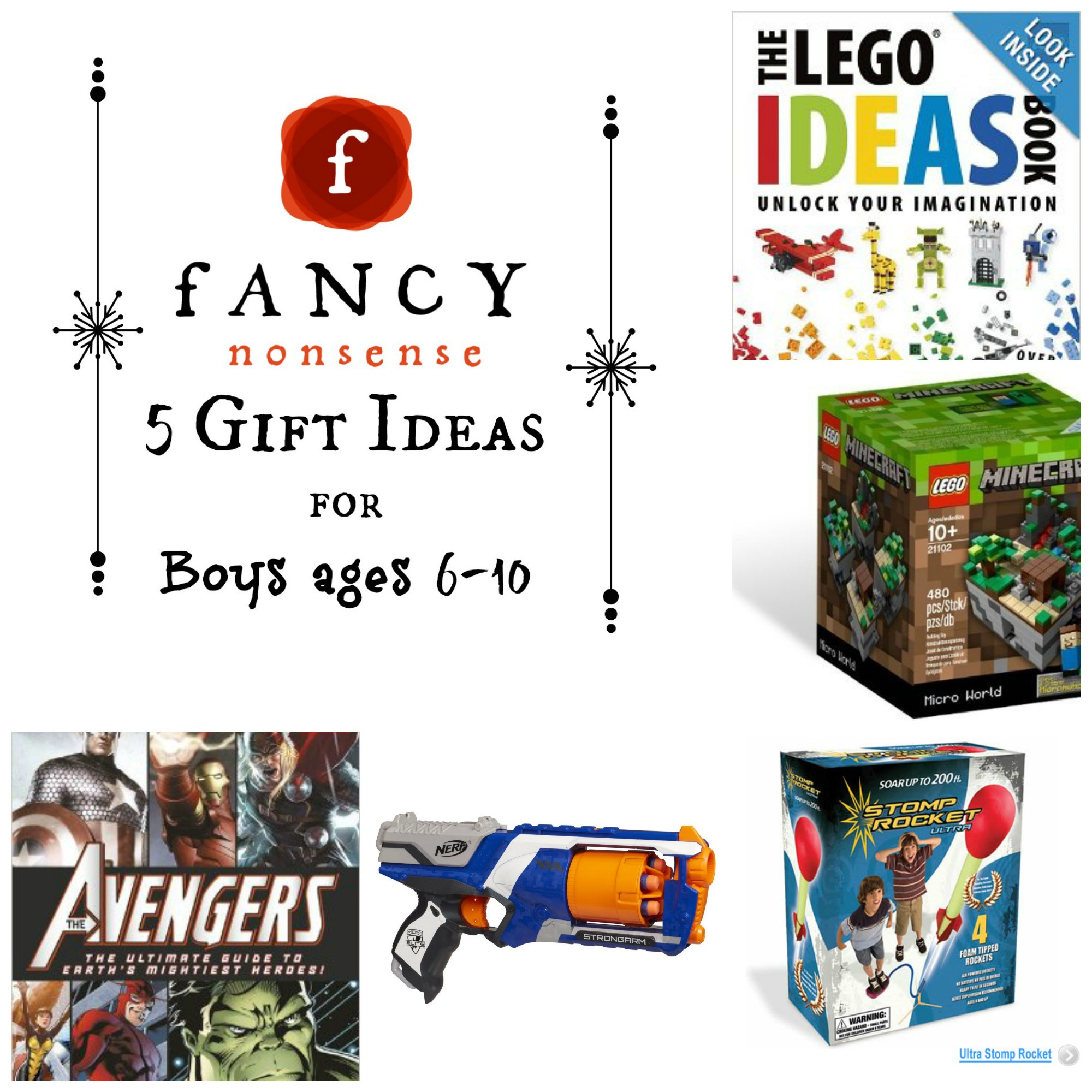 Boys Gift Ideas Age 10  5 Gift Ideas For Boys Ages 6 10