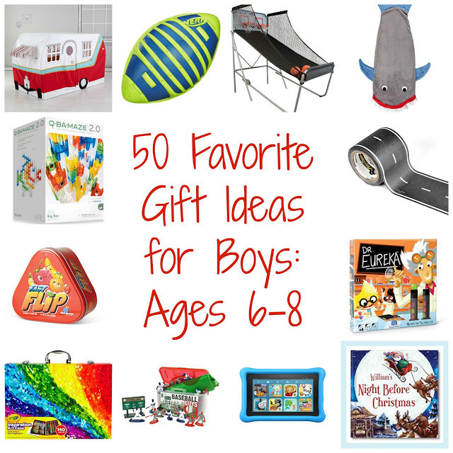 Boys Gift Ideas Age 8  50 Favorite Gift Ideas for Boys Ages 6 8 The Chirping Moms