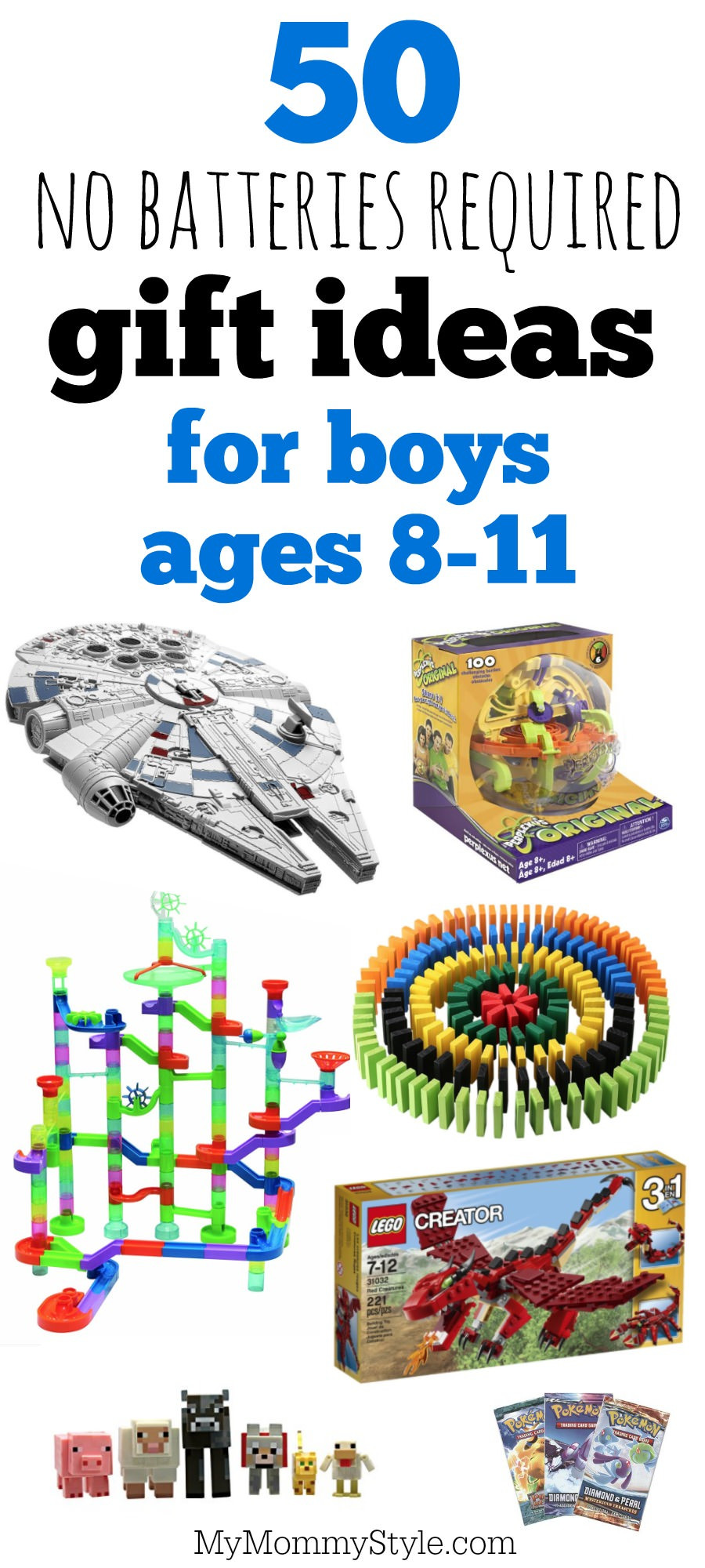 Boys Gift Ideas Age 8  50 battery free t ideas for boys ages 8 11 My Mommy Style