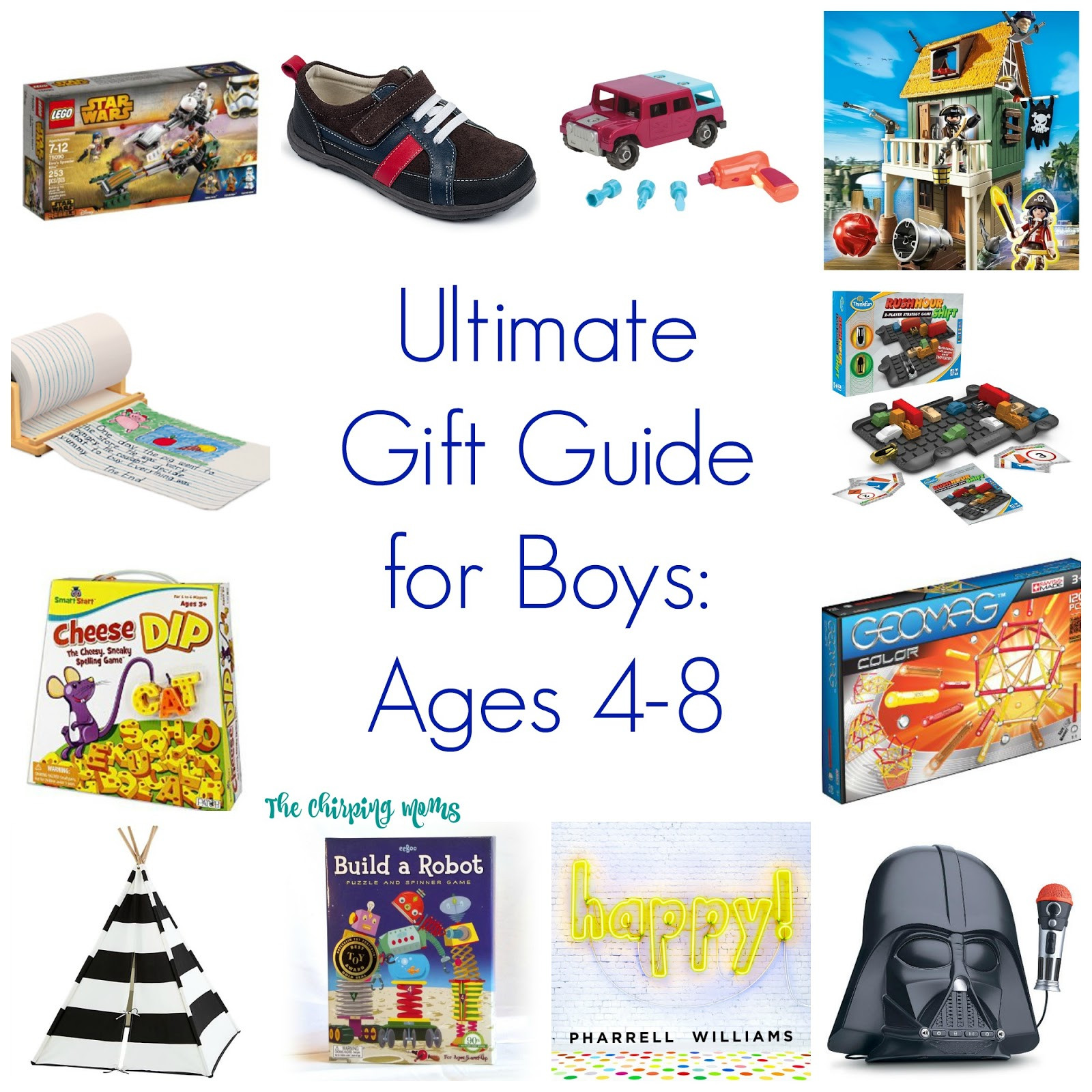 Boys Gift Ideas Age 8  Ultimate Gift Guide for Boys Ages 4 8 The Chirping Moms