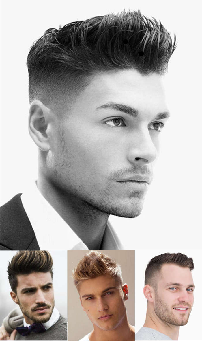 Boys Undercut Hairstyle  Best Widow s Peak Hairstyles For Men
