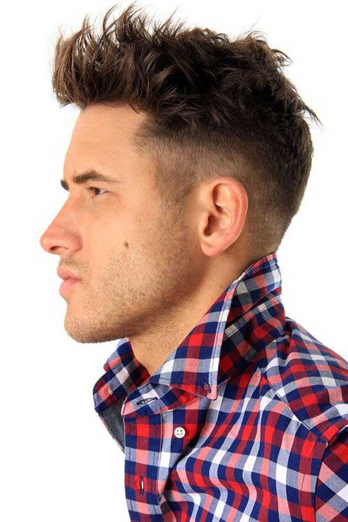 Boys Undercut Hairstyle  15 Mens Thick Hairstyles