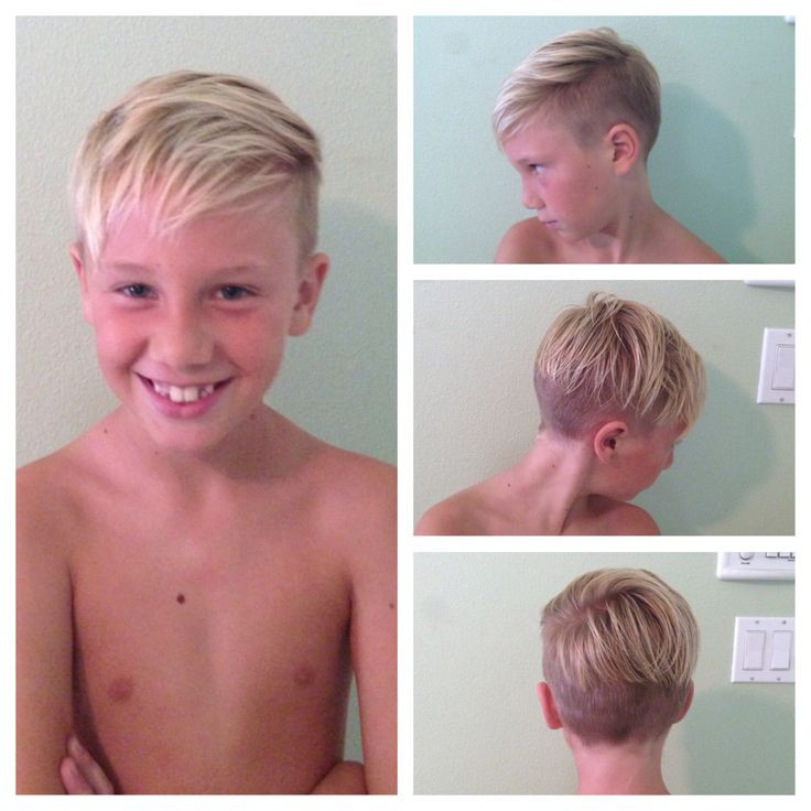 Boys Undercut Hairstyle  Boys haircut Child Undercut
