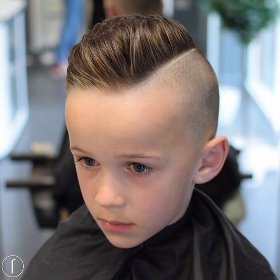 Boys Undercut Hairstyle  30 Fun & Trendy Little Boy Haircuts For Any Occasion