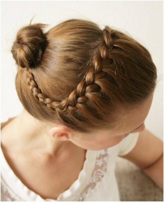 Braid Bun Hairstyles  15 Braided Updo Hairstyles Tutorials Pretty Designs