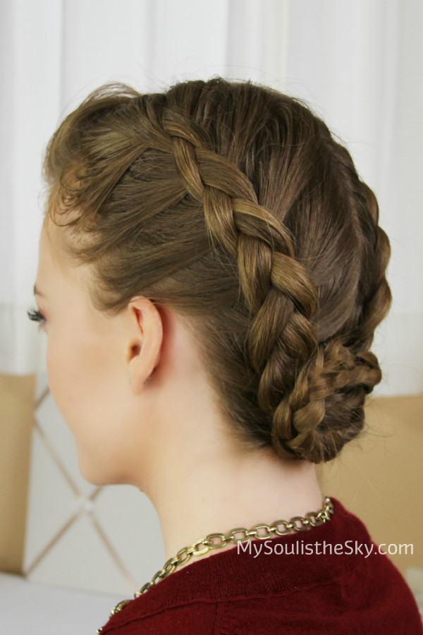 Braid Bun Hairstyles  29 Elegant Braided Bun Hairstyles