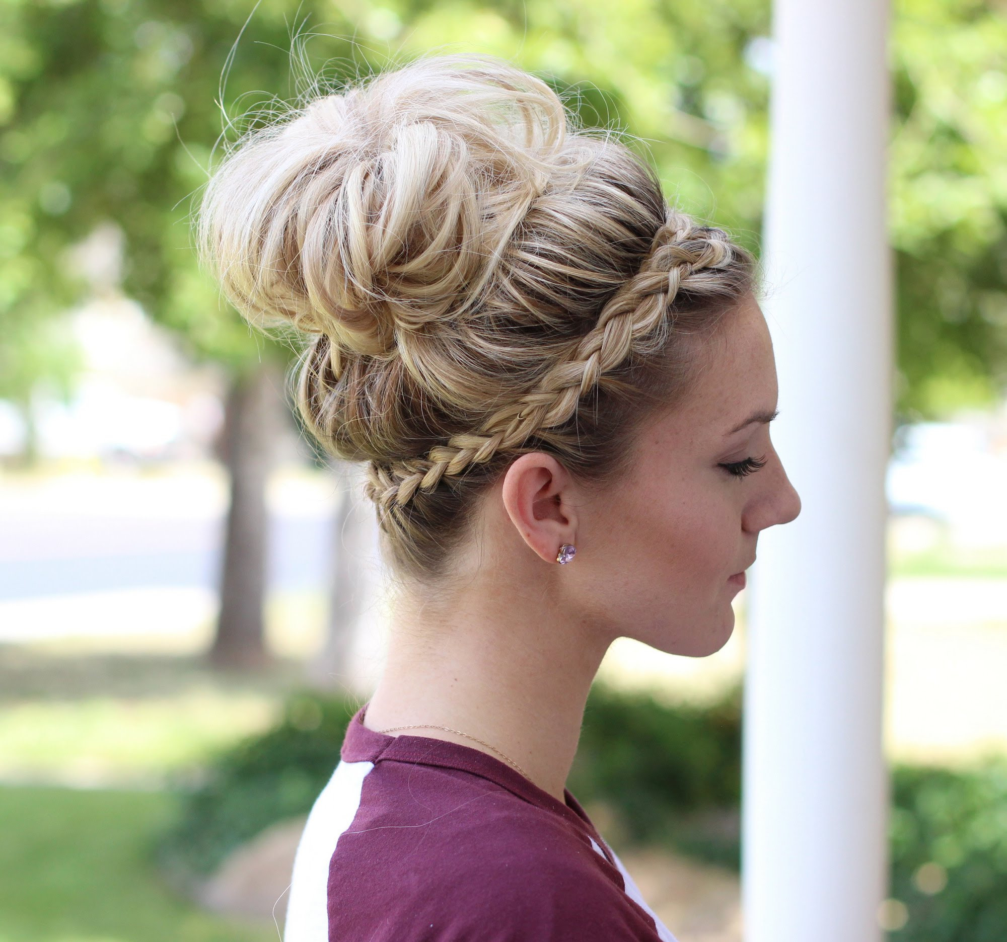 Braid Bun Hairstyles  Classy and Elegant Bun Hairstyles 2016