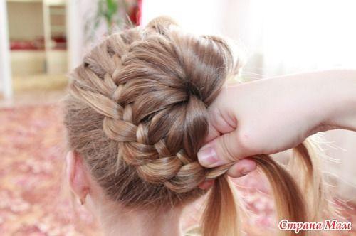 Braid Bun Hairstyles  DIY Unique Braided Bun Hairstyle