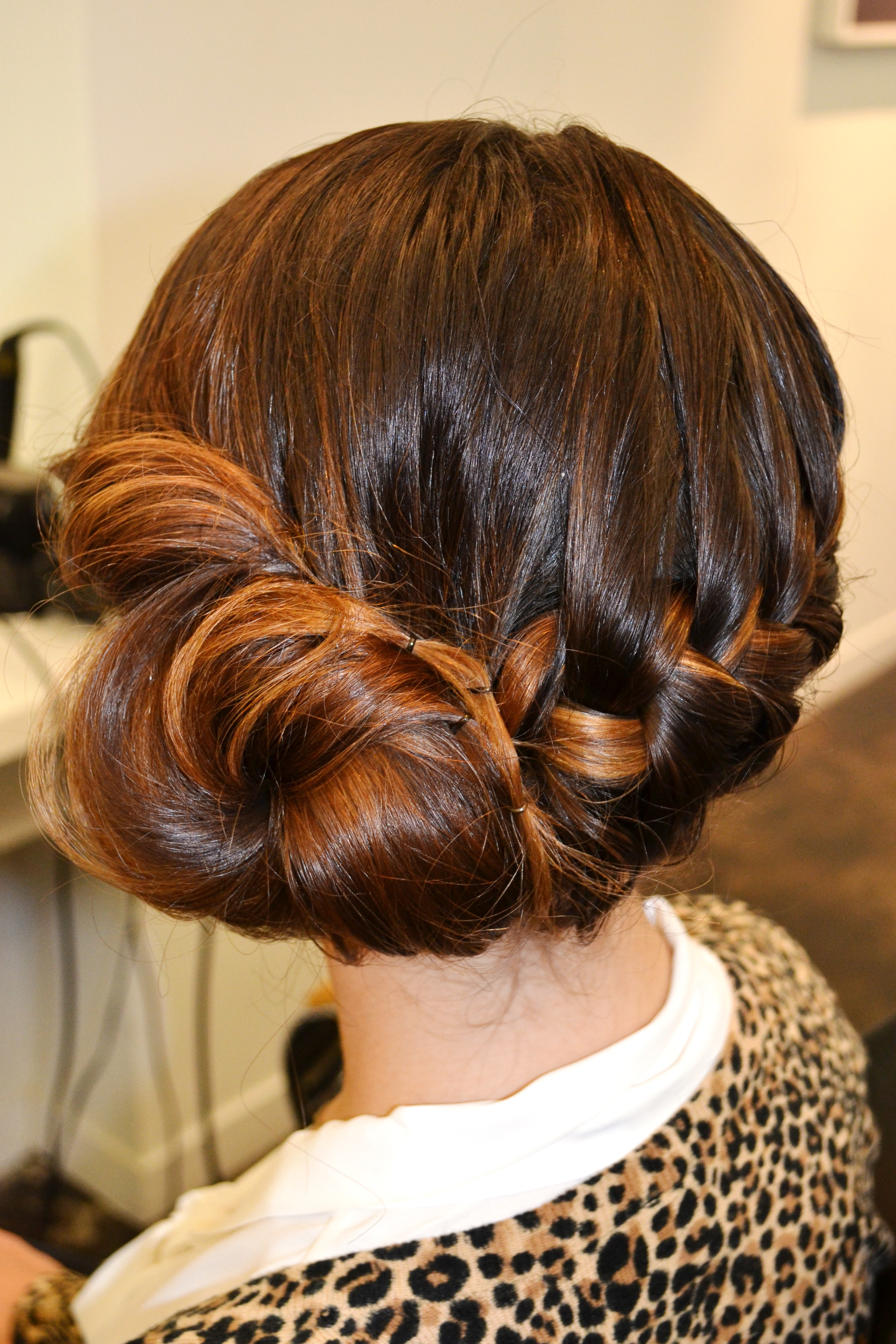 Braid Bun Hairstyles  Holiday Hair Braid Bun Beauty Blvd