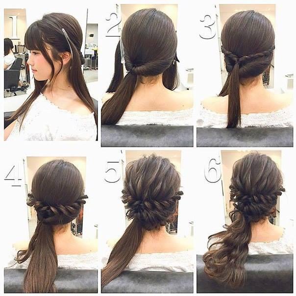 Braid Hairstyles For Shoulder Length Hair  DIY Fashionable Braid Hairstyle for Shoulder Length Hair