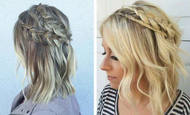 Braid Hairstyles For Shoulder Length Hair  17 Chic Braided Hairstyles for Medium Length Hair