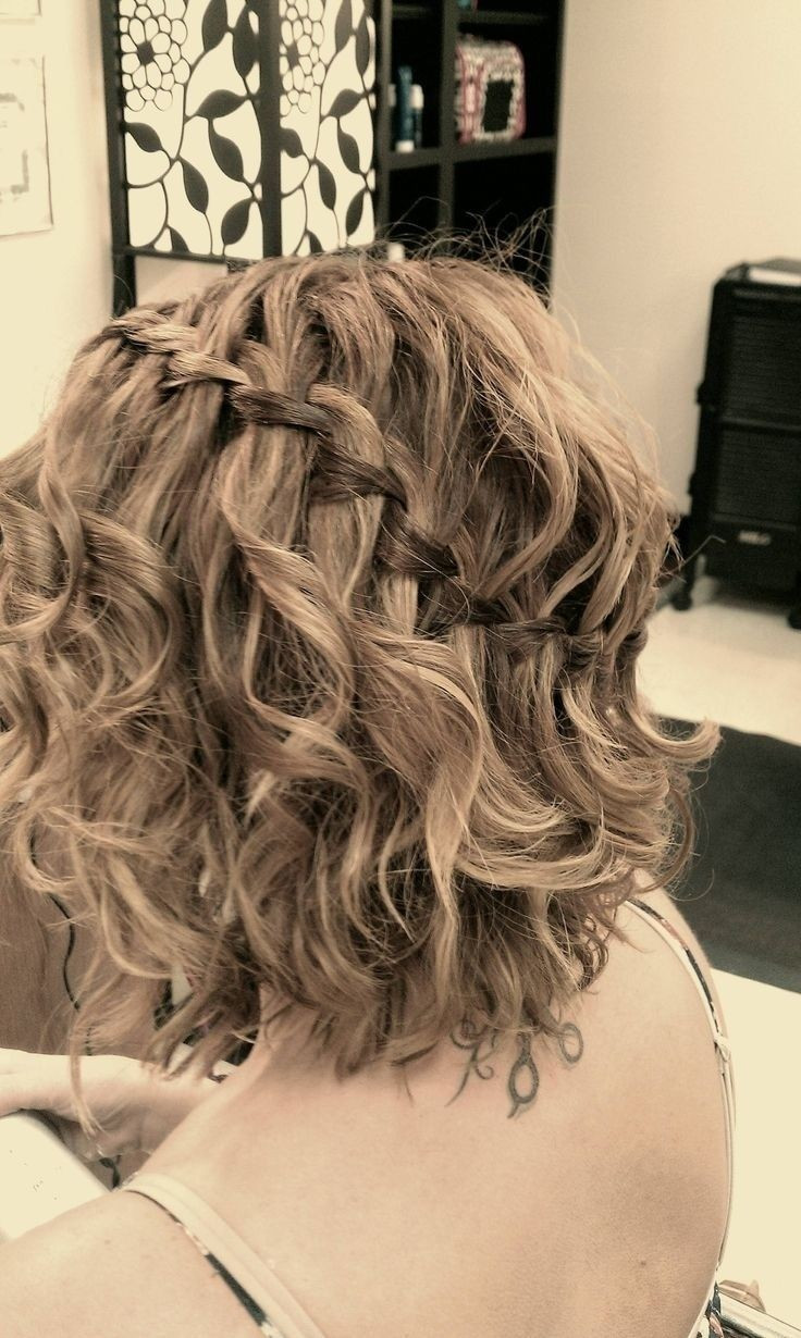 Braided Curls Hairstyle  16 Great Prom Hairstyles for Girls Pretty Designs