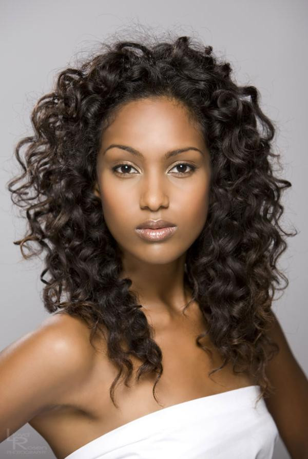Braided Curls Hairstyle  Weave and Curly Braided Hairstyles for Black Women