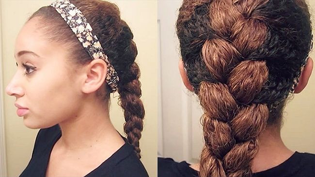 Braided Curls Hairstyle  30 Best Braids & Braided Hairstyles