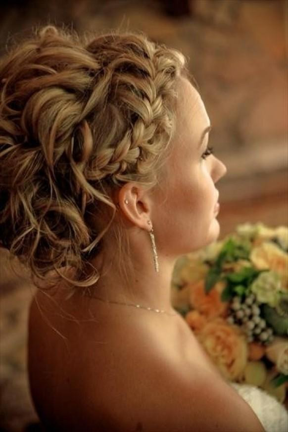 Braided Curls Hairstyle  Curly Updo Hairstyle Ideas For Prom And Special Occasions