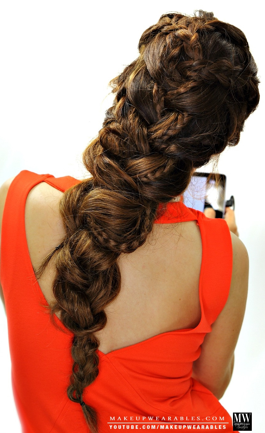 Best ideas about Braided Hairstyles For School . Save or Pin Jaw Dropping Big Braid like Elsa Now.