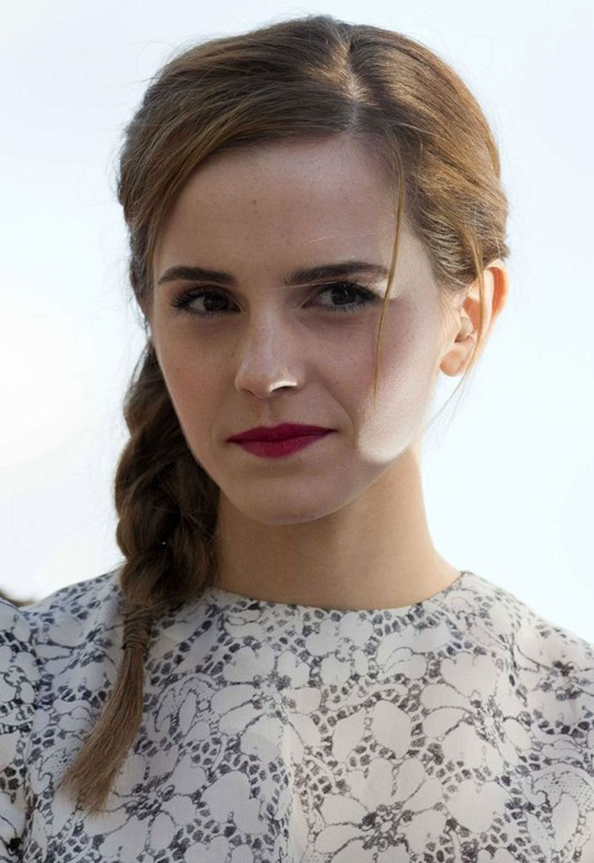 Best ideas about Braided Hairstyles For School . Save or Pin 2014 Easy Braided Hairstyles for School Emma Watson Now.