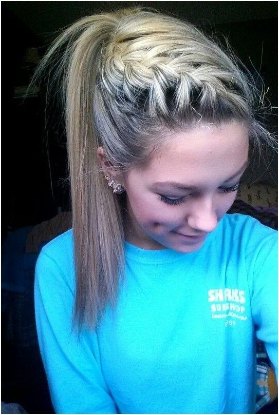 Best ideas about Braided Hairstyles For School . Save or Pin 14 Simple and Easy Hairstyles for School Pretty Designs Now.