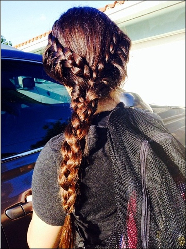 Best ideas about Braided Hairstyles For School . Save or Pin cute back to school hairstyles for everyday braided Now.