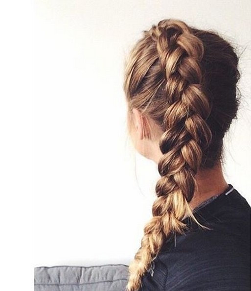 Best ideas about Braided Hairstyles For School . Save or Pin 18 Super Trendy Quick and Easy Hairstyles for School Now.