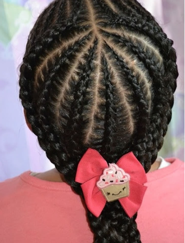 Braiding Hairstyles For Kids  64 Cool Braided Hairstyles for Little Black Girls – Page 4