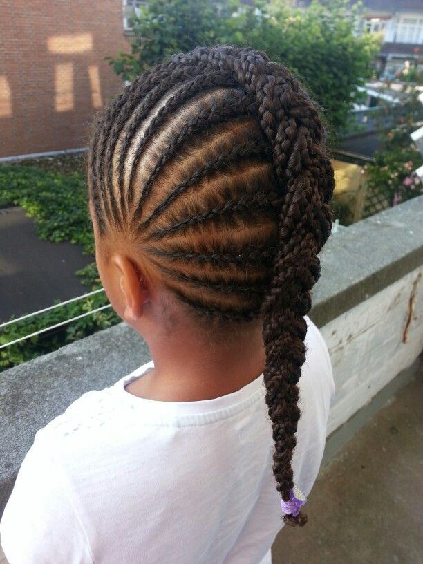 Braiding Hairstyles For Kids  14 Lovely Braided Hairstyles for Kids Pretty Designs