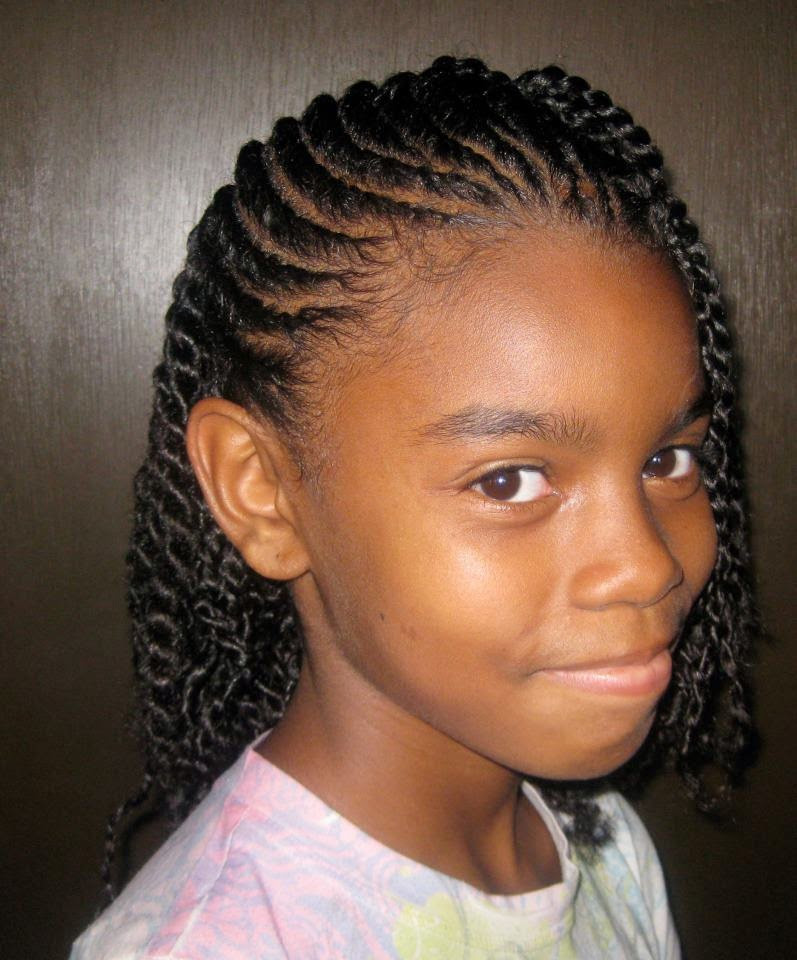 Braiding Hairstyles For Kids  Top 22 of Kids Braids 2014