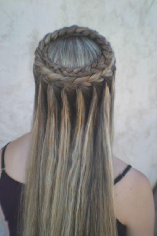 Braiding Hairstyles Tumblr  La moda en tu cabello Cortes de pelo largo y peinados con
