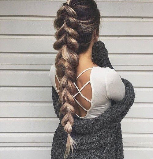 Braiding Hairstyles Tumblr  the boho braid