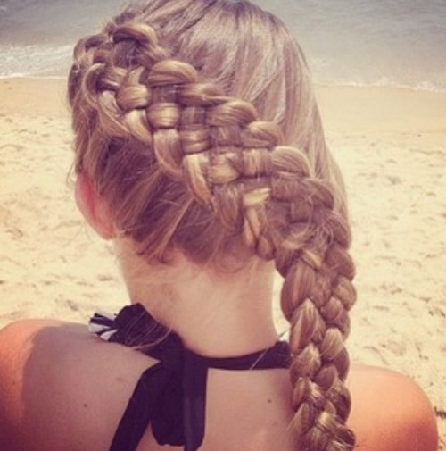Braiding Hairstyles Tumblr  braided hairstyles on Tumblr