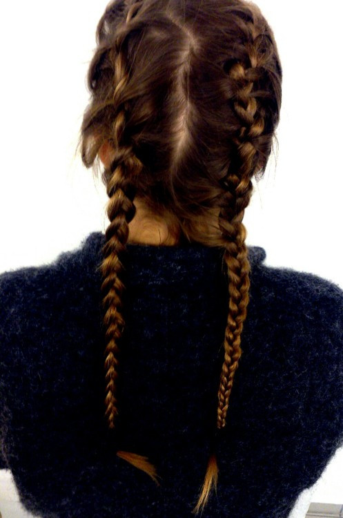 Braiding Hairstyles Tumblr  french braids