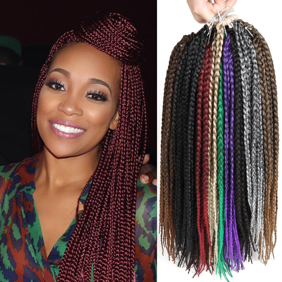 Braids Extension Hairstyles  Box Braids Curly Hairstyles