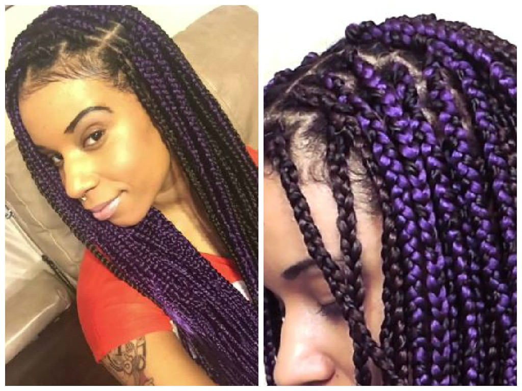 Braids Extension Hairstyles  1 Simple Way You Can Limit Breakage While Wearing Box