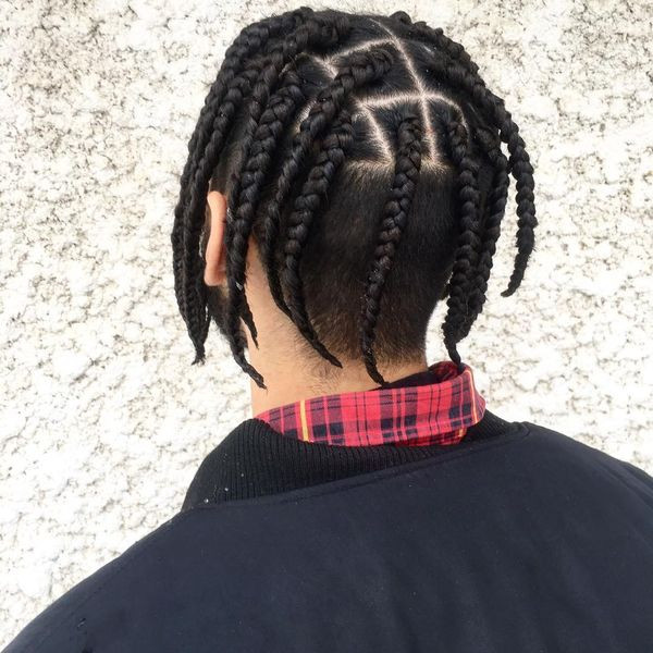 Braids Hairstyle For Men  Braid Styles for Men Braided Hairstyles for Black Man